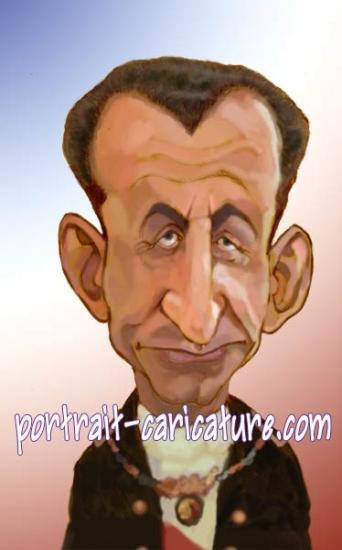 Nicolas Sarkozy by rhinoferos